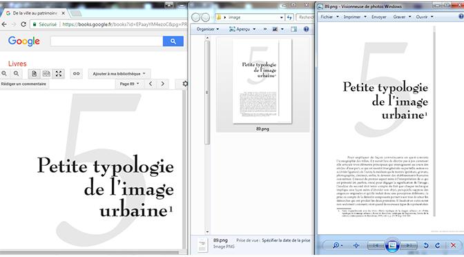 Astuce : récupérer les pages d'un livre présent dans Google Books (mode aperçu)