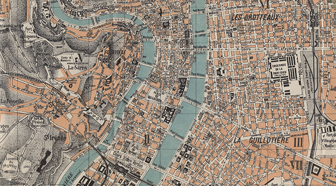 [Publication] Étudier l'image de Lyon dans les guides de voyage (1900-1950) : une approche géohistorique des représentations urbaines