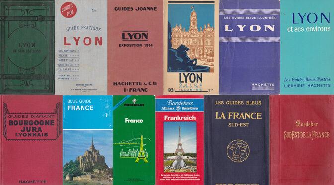 Liste des guides de voyage/tourisme de ma collection personnelle